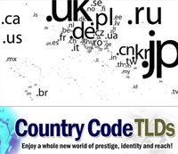 Country Code Top Level Domains
